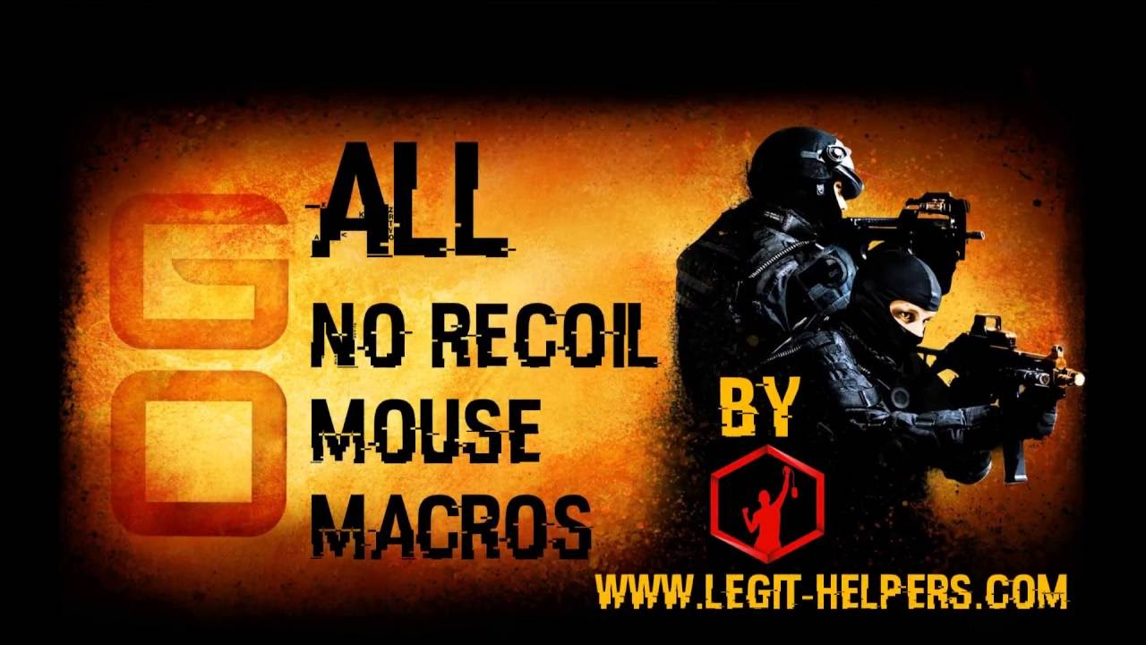 Perfect NoRecoil CS:GO Macros | New Video in the description | Not bannable  | All mouses by www Legit-Helpers com