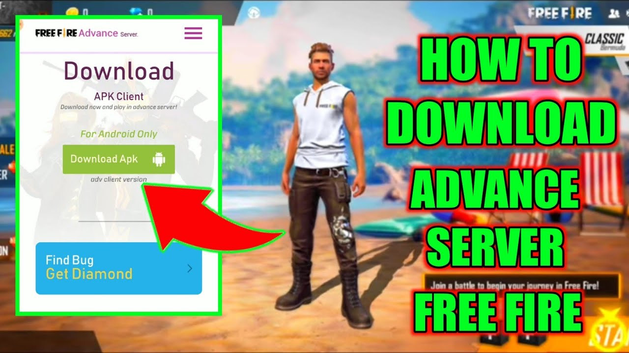 How to Download Free Fire Advance Server 100%Working Trick ...