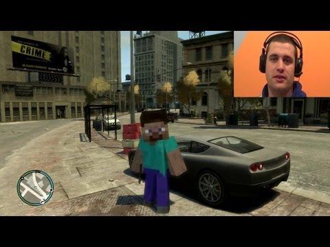 Minecraft u GTA 4 ep.1 [Srpski Gameplay] ☆ SerbianGamesBL ☆
