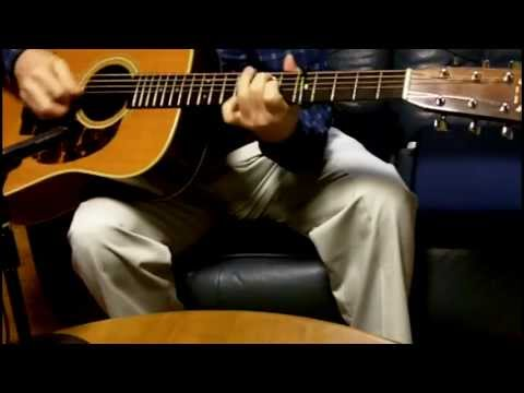 Aunt Dinah's Quilting Party (guitar) - Charlie Waller (cover)