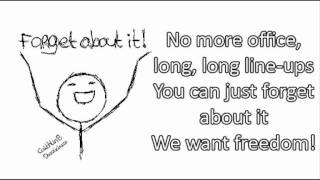 Simple Plan - Anywhere else but here [LYRICS ON SCREEN]