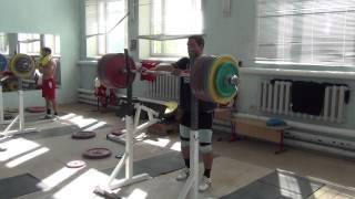 Dmitry Klokov - front squat 265 kg (13.08.2013)