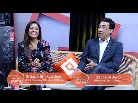 Saurabh Jyoti and Srijana Shakya Jyoti | Building Empire Together | Jeevan Saathi with Malvika Subba