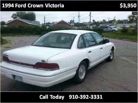 1994 Ford Crown Victoria Used Cars Willmington NC & 1994 Ford Crown Victoria Used Cars Willmington NC - YouTube markmcfarlin.com