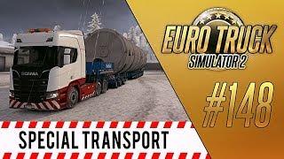 РАБОТА В СНЕГОПАД (Winter Mod) - Euro Truck Simulator 2 - Special Transport DLC (1.30.2.2s) [#148]