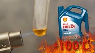 Shell Helix hx7 10w40 Jak czysty jest olej silnikowy? Test powyżej 100°C