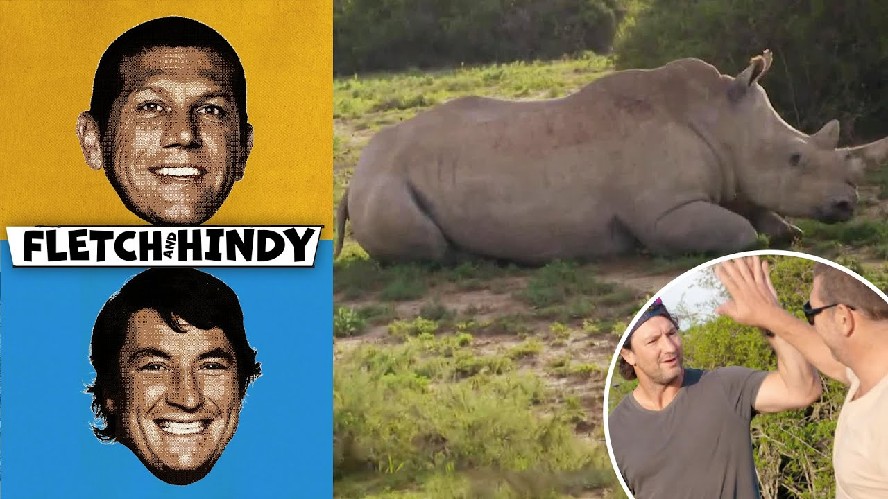 Fletch & Hindy Save A Rhino in South Africa | Fletch & Hindy