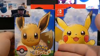 Unboxing 2 Early Copies of Pokemon Let's go Eevee and Pikachu