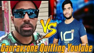 GauravZone Quitting Youtube || GauravZone vs Two Brothers || Stalking King