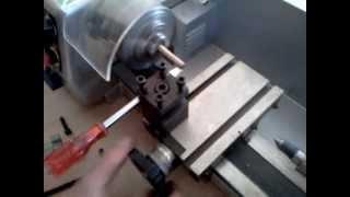 Mini tokarka: Luma Ml 510, cwiczenia na lekcji :)