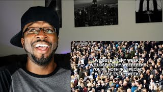 Best Funny English Football Chants ● With Lyrics REACTION