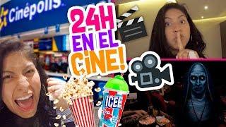 🕗 24 HORAS en el CINE 🍿 Termina MUY MAL 🎥 Conny - Vloggeras Fantasticas