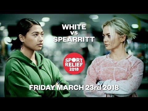 Vanessa White vs Hannah Spearritt  Sport Relief 2018 Celebrity Boxing  BBC One