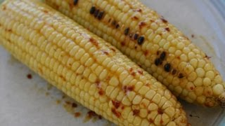 Mexican Grilled Corn On The Cob With Chipotle, Maple, Orange Sauce - 3 Ways To Cook It.