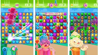 NEW GAME From KING!! Candy Crush Jelly Saga  #Gameplay level 1-10