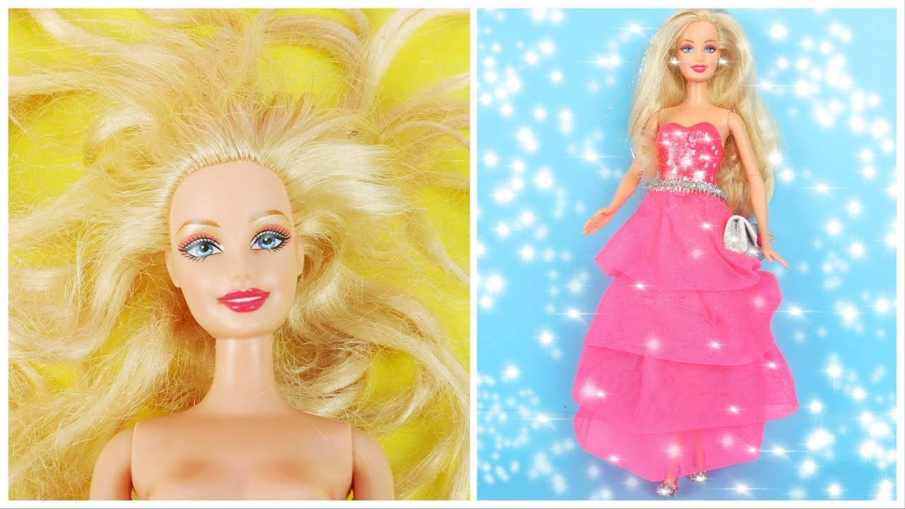 18.33 MB) CLEVER BARBIE HACKS AND CRAFTS ~ DIY DOLL TRANSFORMATIONS ...
