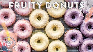 3 BAKED Fruity DONUTS for #BuzyBeez