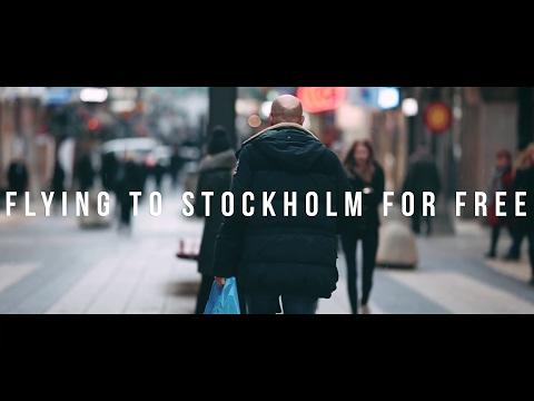 VLOG #9 Flying to Stockholm for free