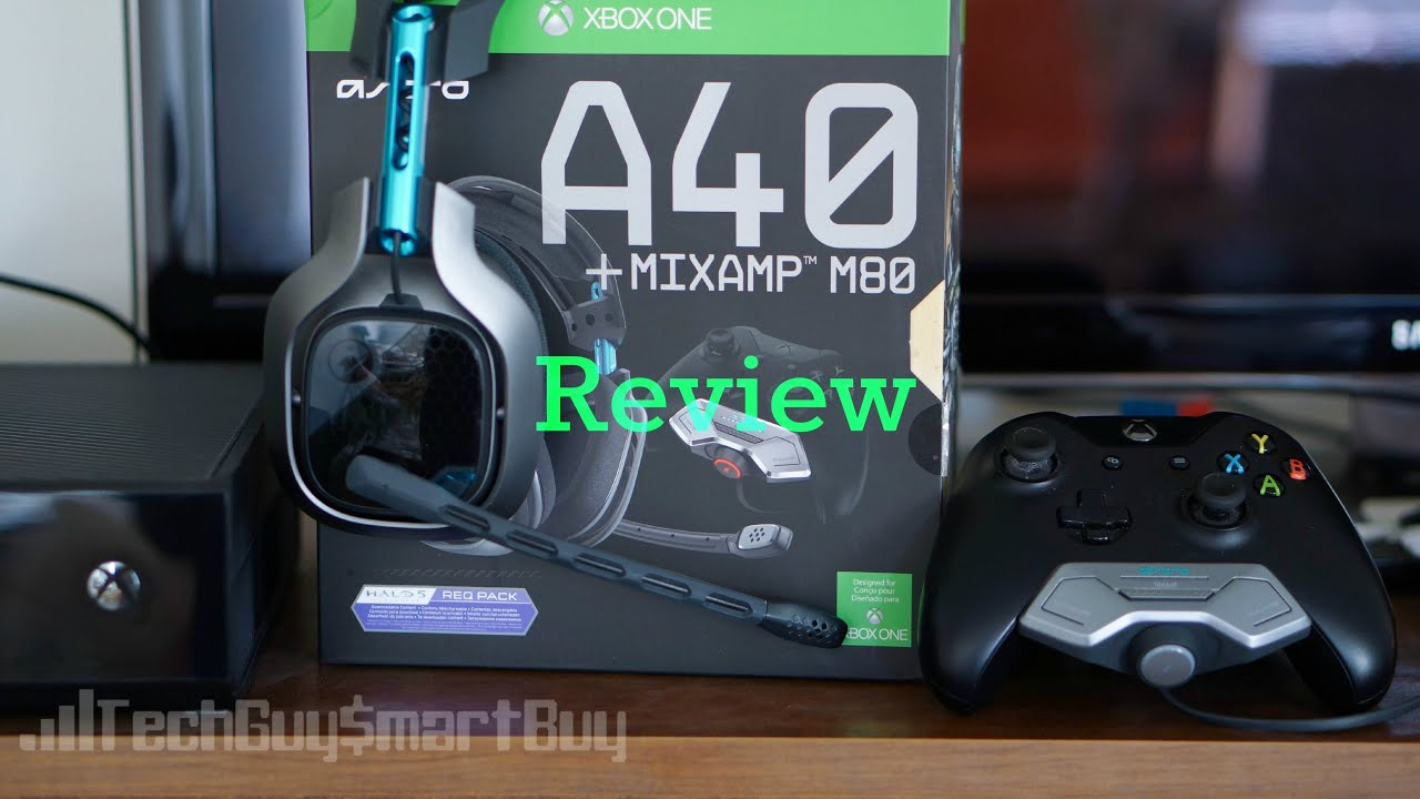 ad450400a09 Astro A40 + Mixamp M80 Halo 5 Edition Review - YouTube