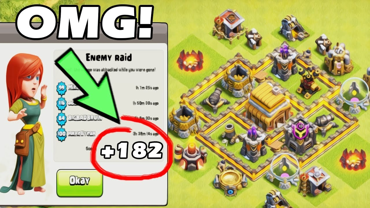 Best Base Th4 Epic New Town Hall 4 Trophy Base Design Clash Of