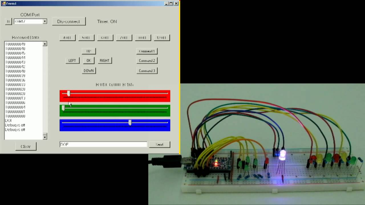 Arduino and Visual Basic Part 3: Controlling an Arduino | Martyn Currey