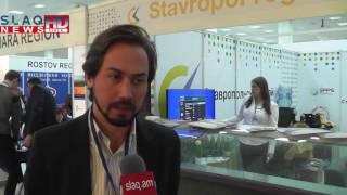 Slaq am Մեկնարկել է «Էքսպո Ռուսաստան Հայաստան և Իրան» միջազգային արդյունաբերական ցուցահանդեսը