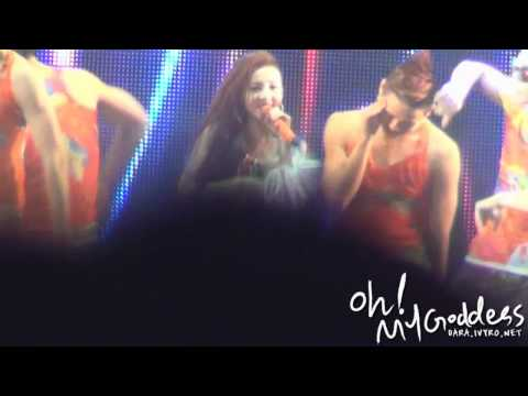 [FANCAM] New Evolution MIX - UGLY , Let`s go party (DARA ver)