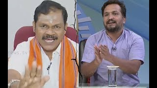 Green Express Way Special Debate:  Aggressive arguement Piyush Manush  vs Arjun Sampath