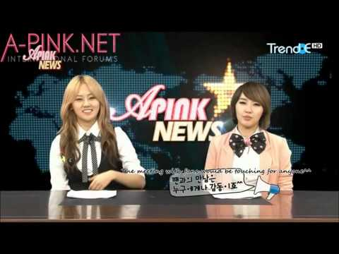[APINKSUBS] A-Pink News S1 Ep. 8 part 1 of 2