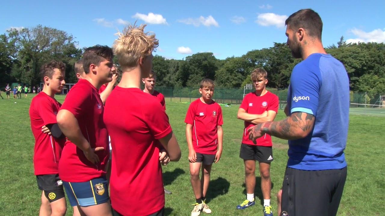 f32a588b3 Bath Rugby Residential Camp - YouTube