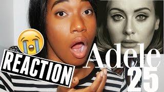 Baixar Adele 25 Album REACTION!!! | jovanaboringlife