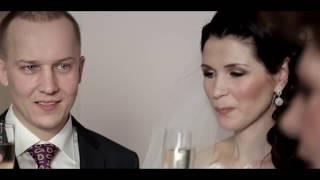Зимняя свадьба 23 января Александра и Динары в Царицыно