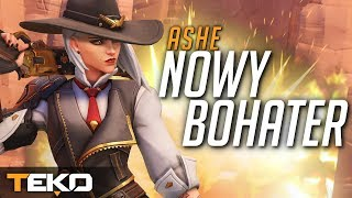 Ashe - NOWY BOHATER! BlizzCon 2018! [Overwatch]
