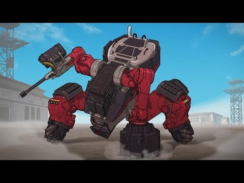 Just Cause 3 Mech Land Assault DLC Anime Trailer