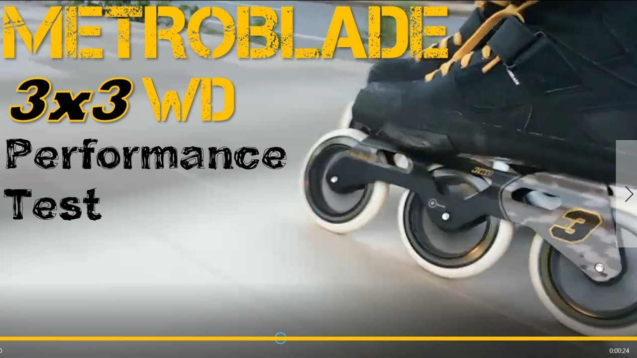 rollerblade metroblade 3wd 2017 performance test inline skates
