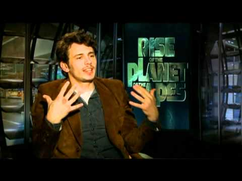 James Franco, Andy Serkis and Freida Pinto Interview for RISE OF THE PLANET OF THE APES
