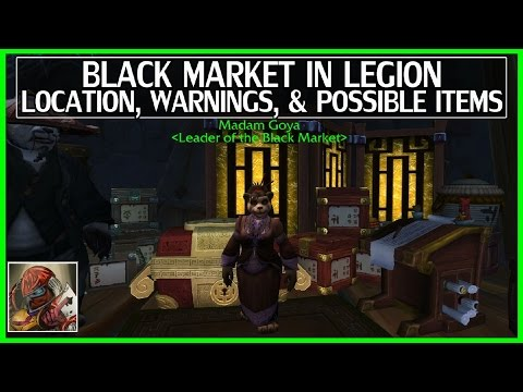 WoW Legion Black Market Auction House(BMAH) Location & Info