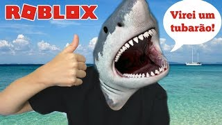ROBLOX: I TURNED SHARK AND ATTACKED EVERYONE | Family playing