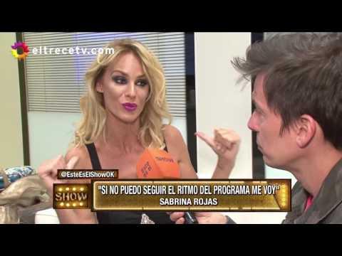 La condición de Sabrina Rojas para no renunciar al Bailando