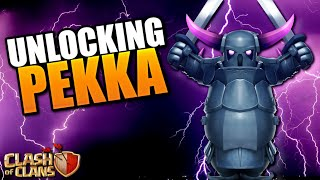 PEKKA UNLOCKED on my TH8!  Clash of Clans