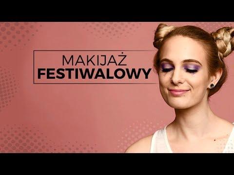 Makijaż Festiwalowy Tutorial Babskieshorty