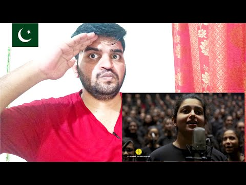 1000 All Girl Choir pay tribute to A R  Rahman at Bollywood Parks Dubai | Pakistani Reaction |