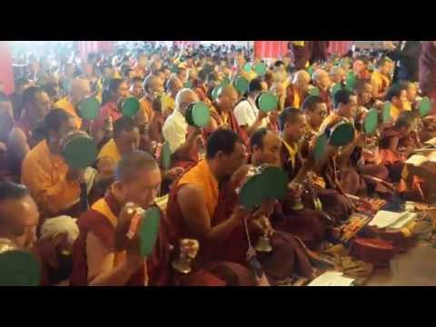 Troma Tsog with Dudjom Yangsi Rinpoche | Samje Djedren Ani Gompa, Nepal 2014