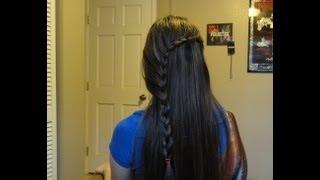 Hướng dẫn tóc : cách bím tóc xéo, thùy mị dễ thuơng