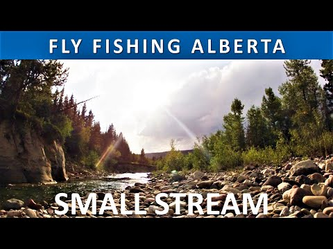 Fly Fishing Southern Alberta Canada Small Stream Season 2 Episode 6