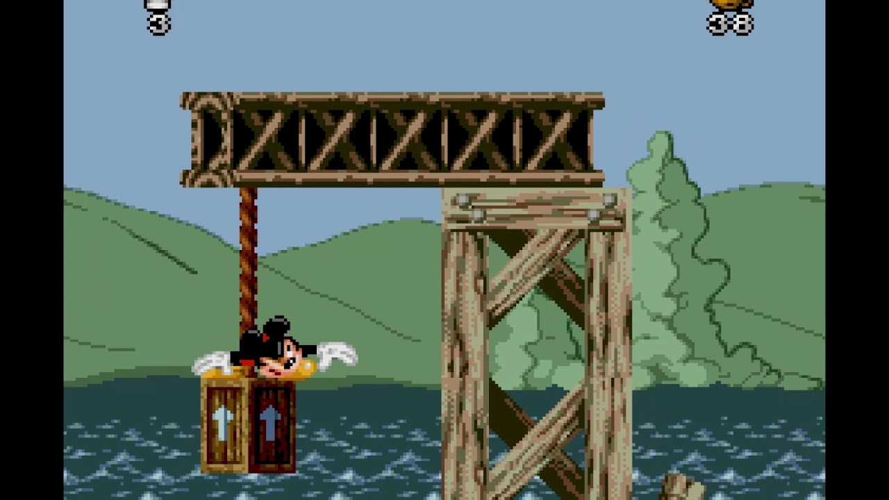 [SNES] Mickey Mania First Minutes Gameplay