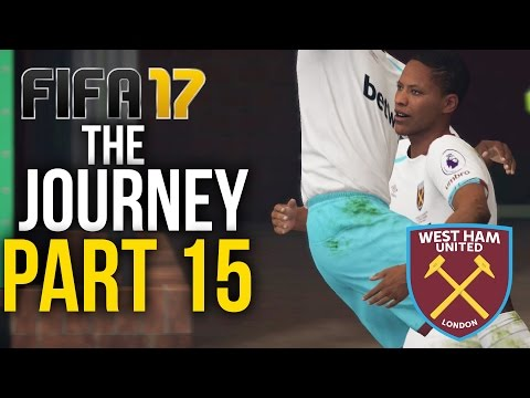 FIFA 17 THE JOURNEY Gameplay Walkthrough Part 15 - FIRST IN THE LEAGUE (West Ham) #Fifa17