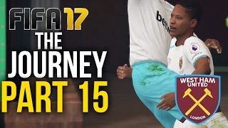Video FIFA 17 THE JOURNEY Gameplay Walkthrough Part 15 - FIRST IN THE LEAGUE (West Ham) #Fifa17 download MP3, 3GP, MP4, WEBM, AVI, FLV Desember 2017
