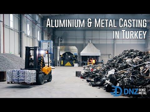 Deniz Metal Casting ²⁰²⁰ | Aluminium Casting in Turkey | Aluminium Ingots in Istanbul