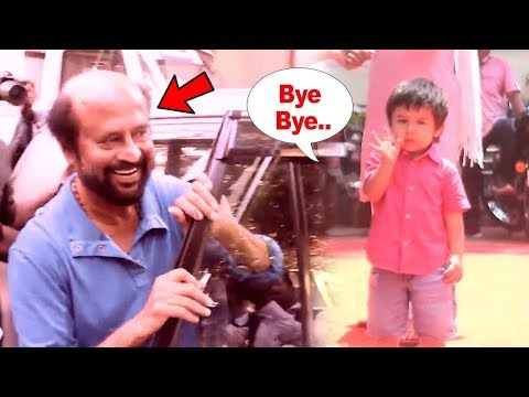 Superstar Rajinikanth Reaction After Watching CUTE Taimur Ali Khan For The First Time!